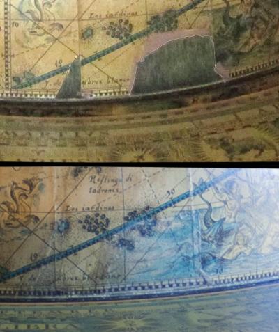 Gloobuse kaardiosa detailvaade