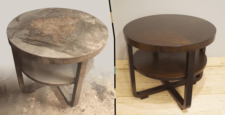 Kohvilaud enne ja pärast restaureerimist
